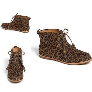 Aerin Portledge Leopard Desert Bootie